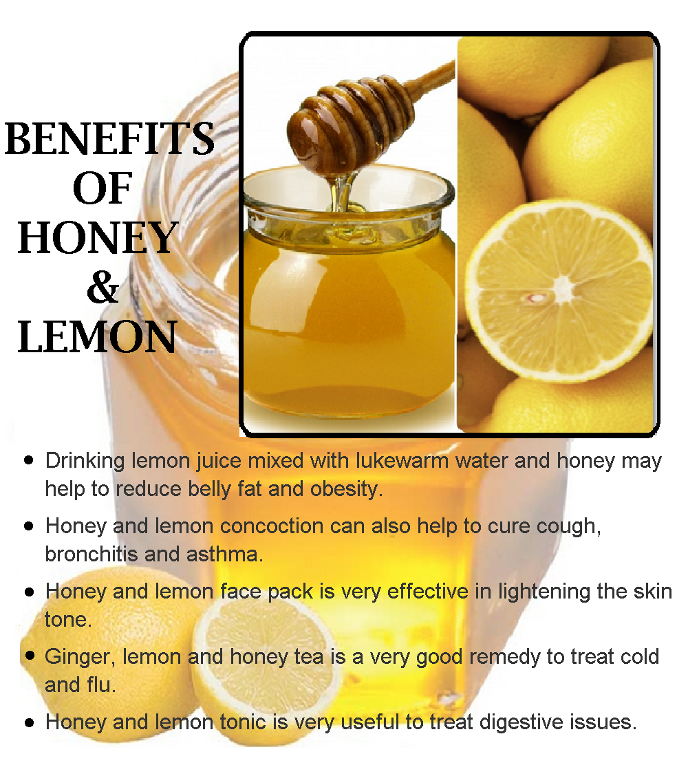 Benefit of ginger and honey