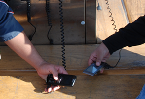 Pengecas solar awam untuk telefon mobil