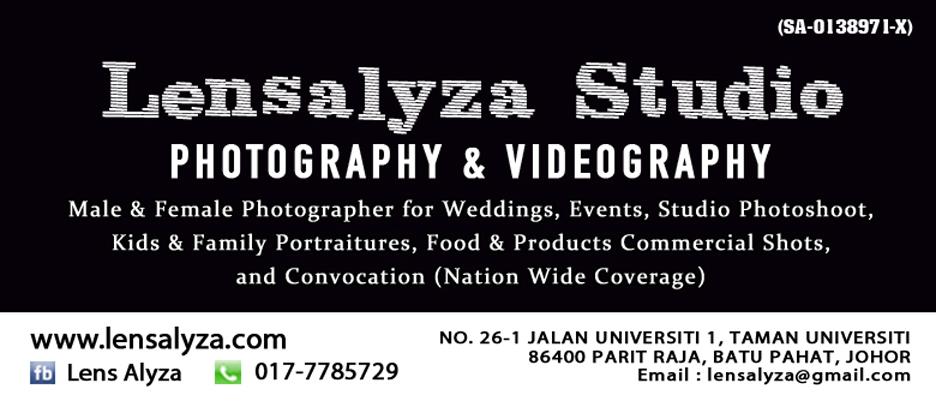 Alyza Photography - Jurufoto / Photoshoot Perkahwinan / Wedding Photographer Batu Pahat, Johor