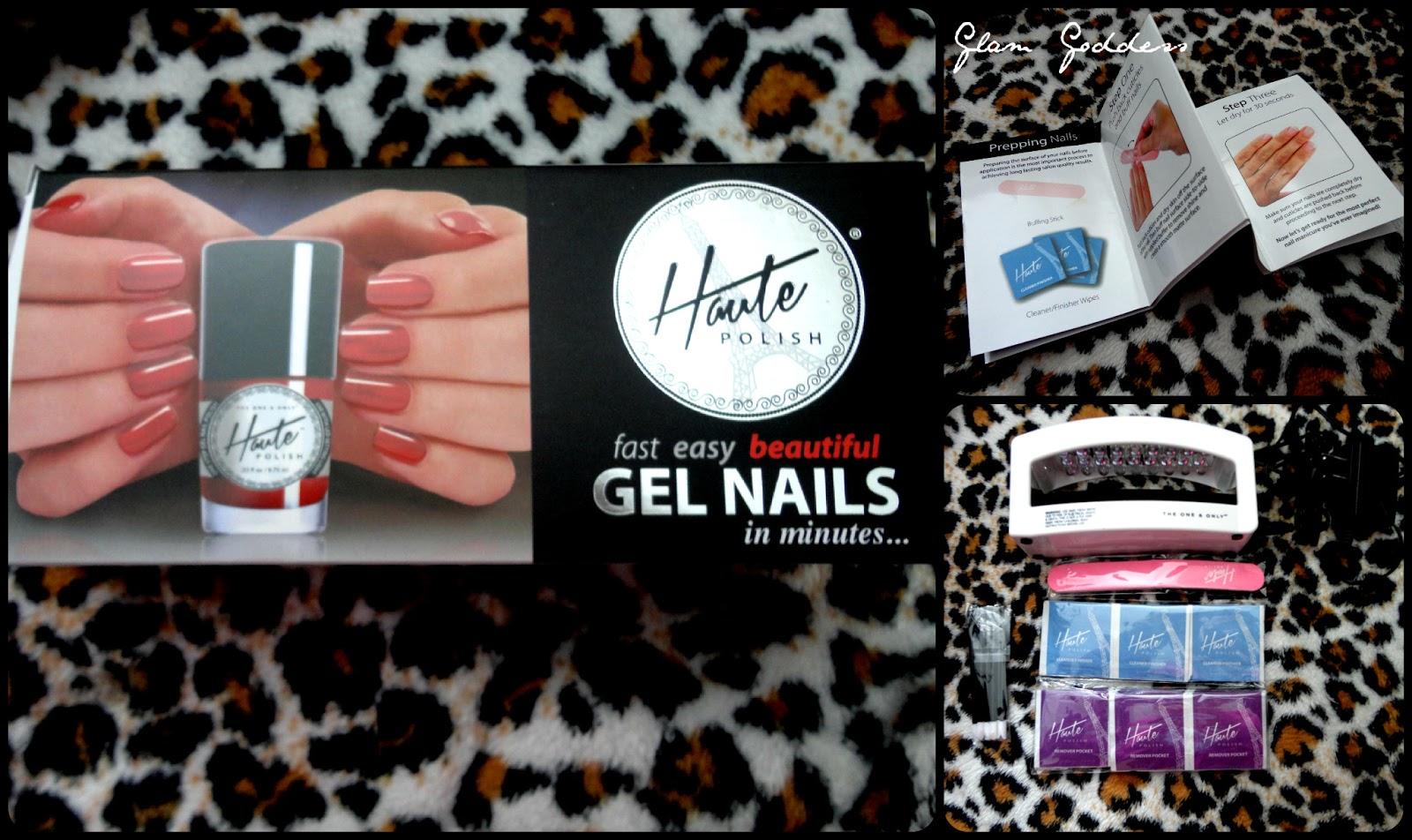 The Glam Goddess: Haute Polish Gel Nails Review