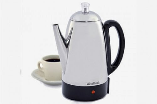 West Bend 54159 Classic Stainless-Steel 12-Cup Percolator