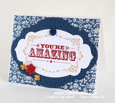 Stampin' Up! You're Amazing Stamp Set