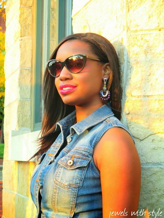 m renee design, jewels with style, handmade jewelry, handmade earrings, statement earrings, black fashion blogger