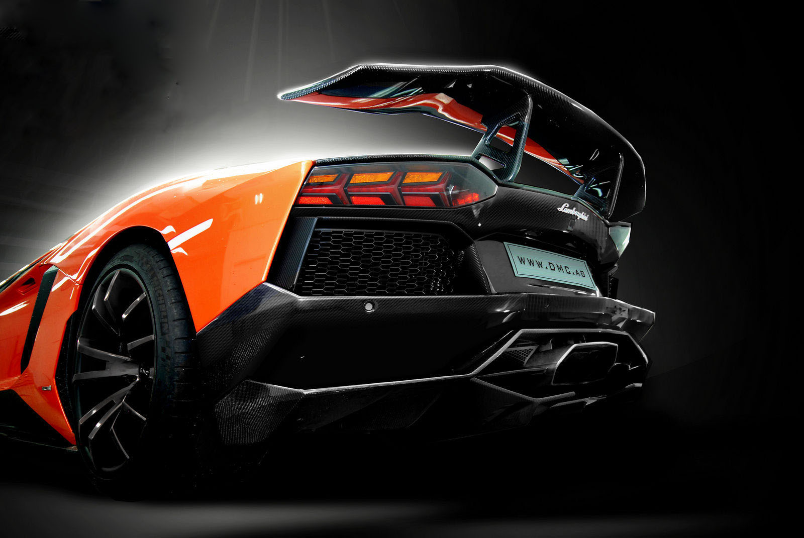 car in Lamborghini Aventador LP900 SV Limited Edition by DMC Tuning