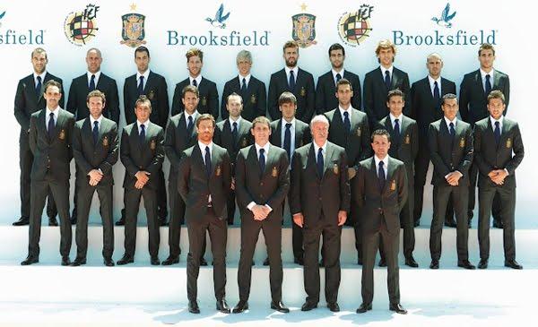 trajes selección española 2012 Brooksfield