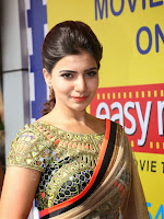 Samantha Latest Glam pics in saree-cover-photo