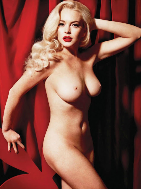 Playboy Girl Lindsay Lohan