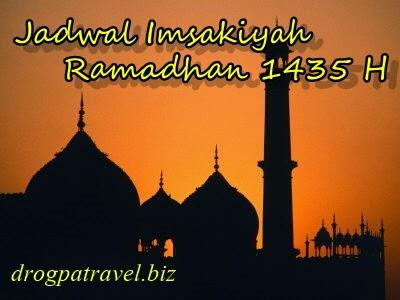 Jadwal Imsakiyah 2015 Puasa Ramadhan 1436 H