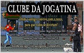 FAÇA PARTE DO CLUBE DA JOGATINA