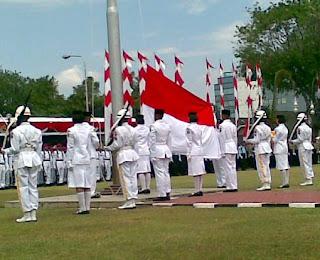 Gambar upacara bendera bagi yang sudah berpengalaman tata cara upacara