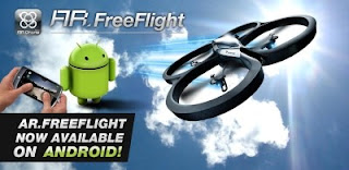Parrot AR.Drone Controller app for Android released + SDK