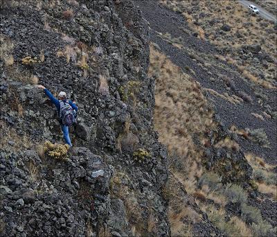 Geologist Bruce Bjornstad.