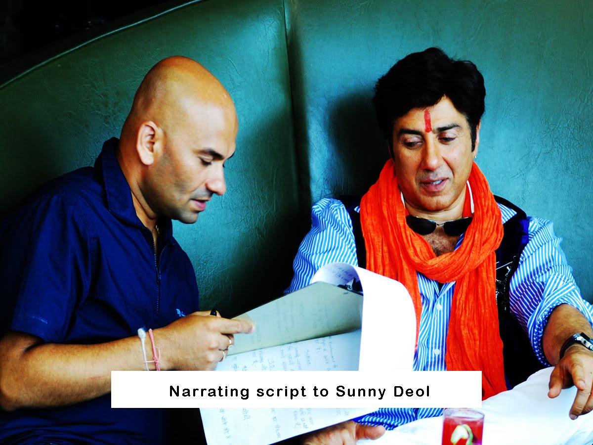 On Sets Sunny Deol