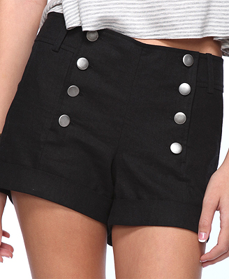 Cuffed Sailor Short $15.80 (Forever 21)