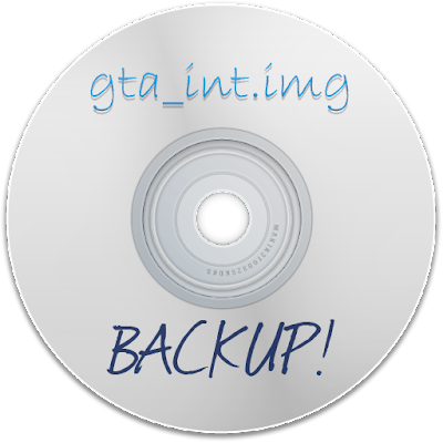 GTA SA - Backup do arquivo gta_int.img
