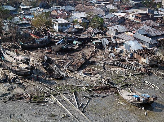 FUJA DELES! VEJA PAÍSES COM MAIOR RISCO DE DESASTRES NATURAIS