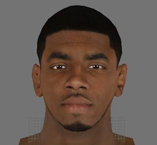 NBA 2K13 Kyrie Irving Cyber Face Mod