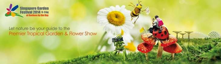 this year happening right now for 9 days from 16 to 24 august 2014 is our very own singapore garden