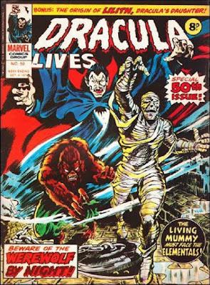 Marvel UK, Dracula Lives #50