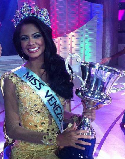 Miss Venezuela Mundo World 2013 winner Karen Andrea Soto Lugo