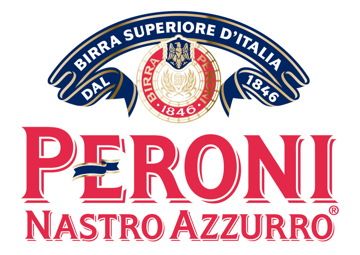 peroni on packaging of the world creative package design peroni logo font persona logo meaning