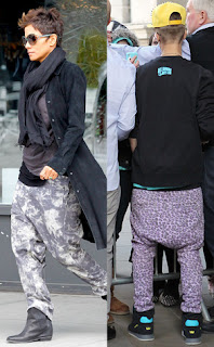 Baggy Harem Pants, ustin Bieber, Halle Berry, MC Hammer