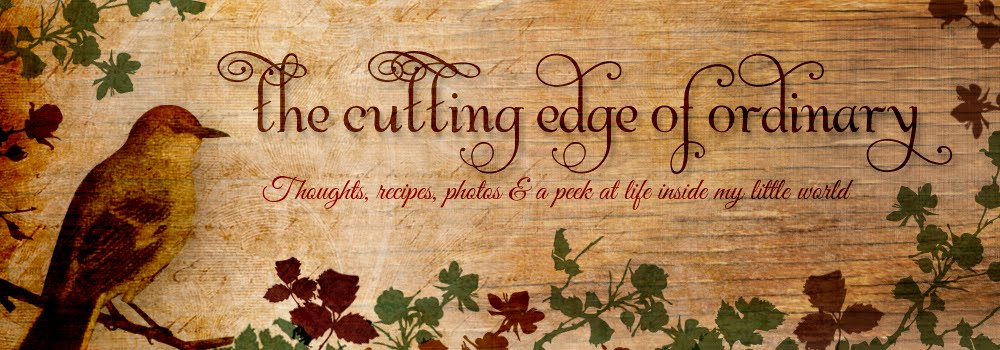 The Cutting Edge of Ordinary