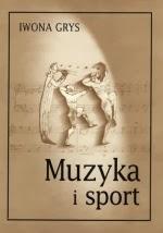 """Okładka książki """"Muzyka i sport"""""""