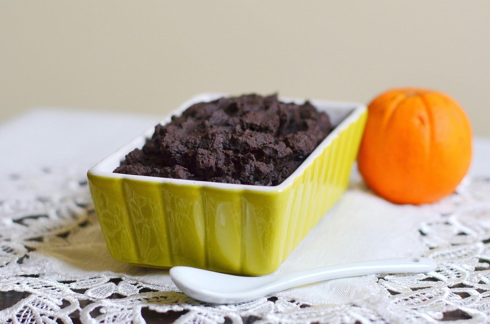 czekoladowe ciasto z ciecierzycy