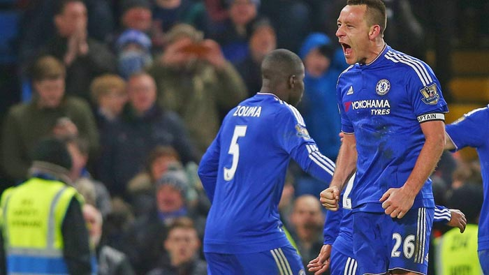 EPL Update: John Terry Scores Late Equalizer For Chelsea, Man City Thrashes Crystal Palace