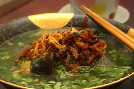 Eel Vermicelli Recipe (Miến Lươn)