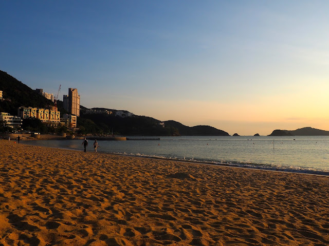 Early evening on Repulse Bay Beach, Hong Kong