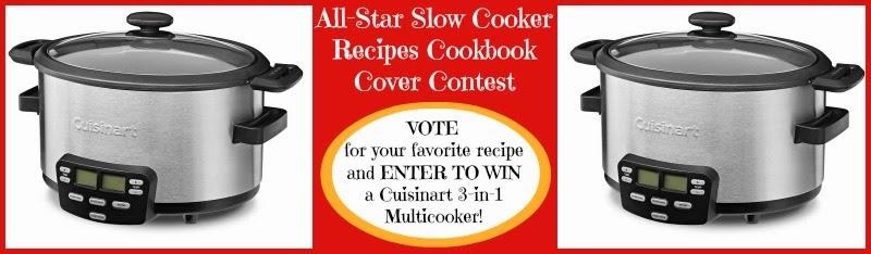Win a Cuisinart Multicooker #allfreeslowcookerrecipes #ecookbook
