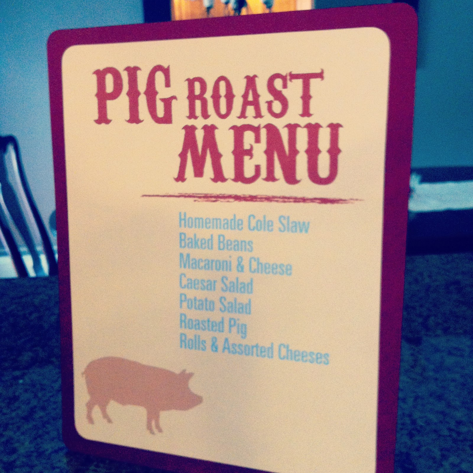 Classic Events By Kris: Pig Roast Party: Part 1