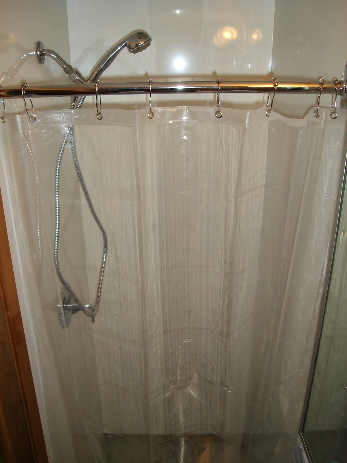 split shower curtain ideas. The Shower Curtain Is This EVA Non-toxic One (had A Slight Plastic Smell But Was Fine For Me) (other Options To Try Are Polyester Or Polyethylene Split Ideas U
