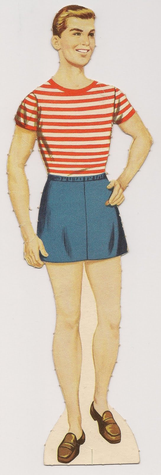 Gay male paper dolls