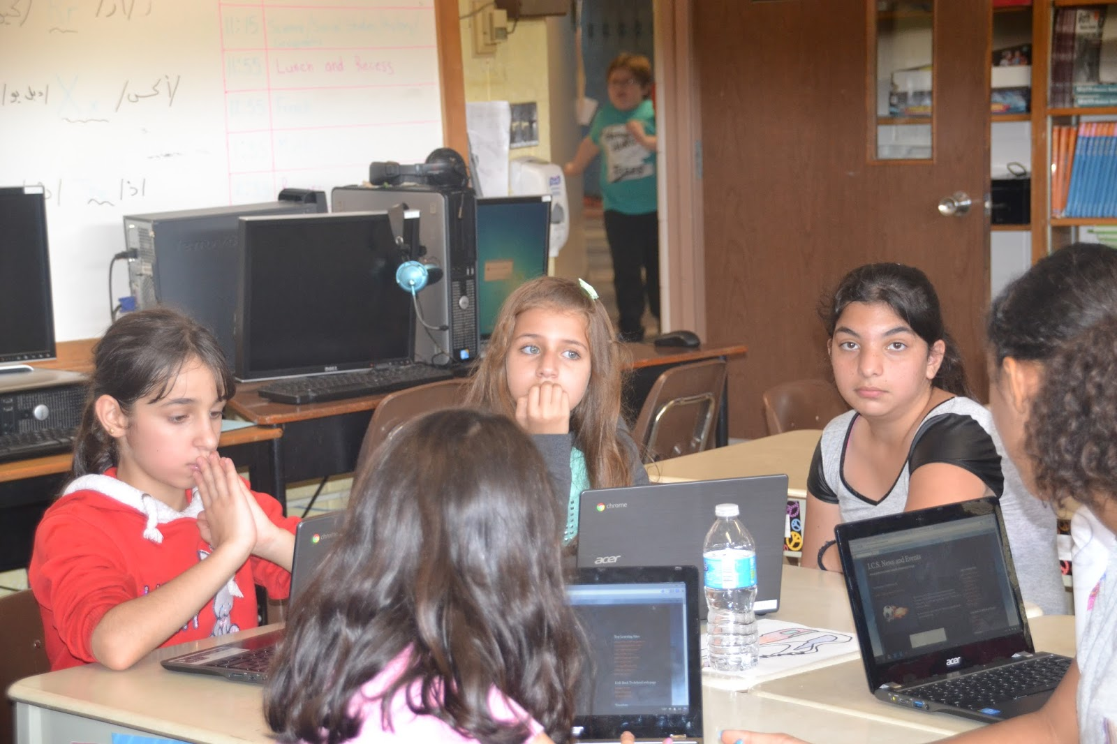 Gr. 5/6 and Gr. 6/7 Learning to Blog | I.C.S. News and Events
