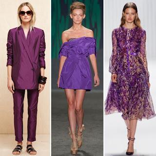 Purple Reign 2013 Moda Renkleri