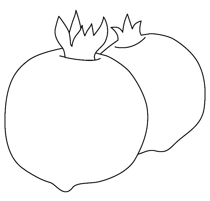 frutas coloring pages - photo#23