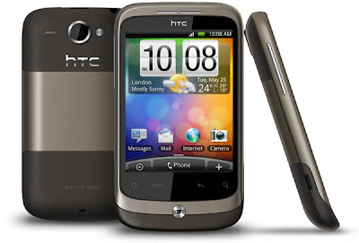 HTC Wildfire gris