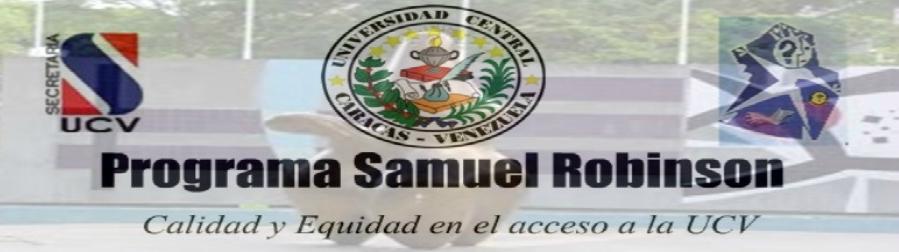Programa Samuel Robinson UCV