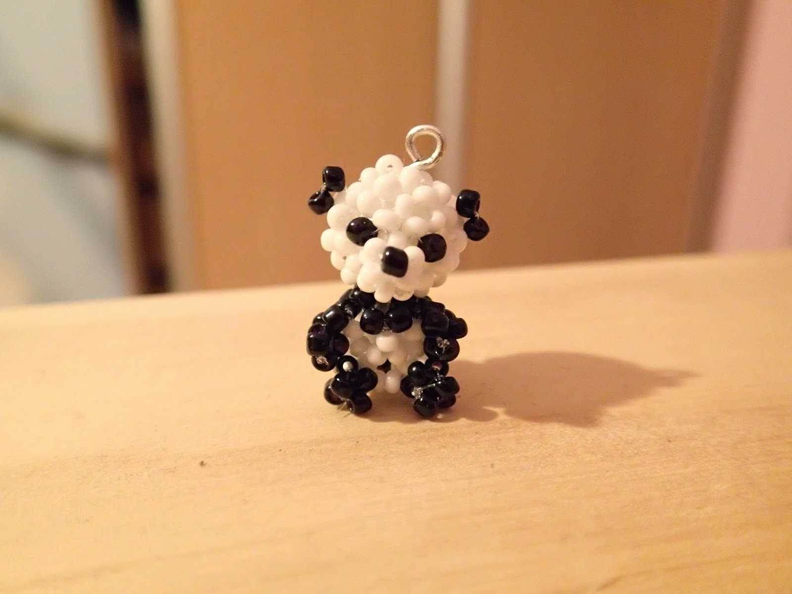 panda z koralików