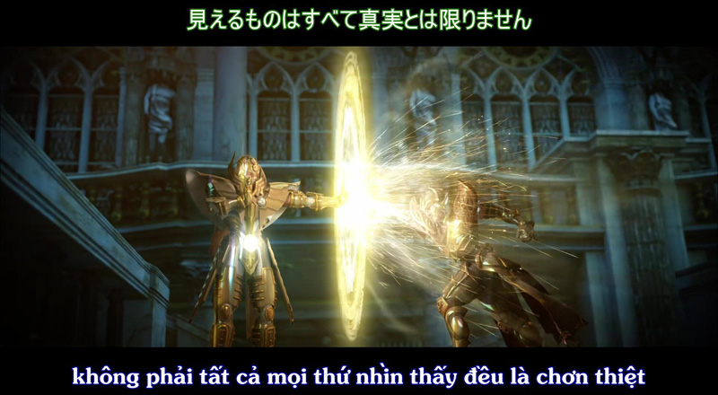 anime, Saint Seiya Legend of Sanctuary, áo giáp vàng