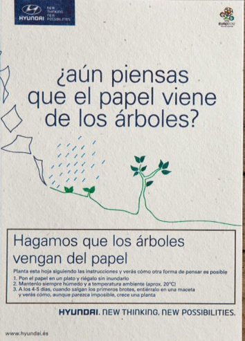 Pack 5uds papel con semillas camomila a4 jardinitis - Jardinitis opiniones ...