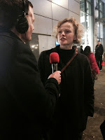 Maxine Peake with Phil Trow