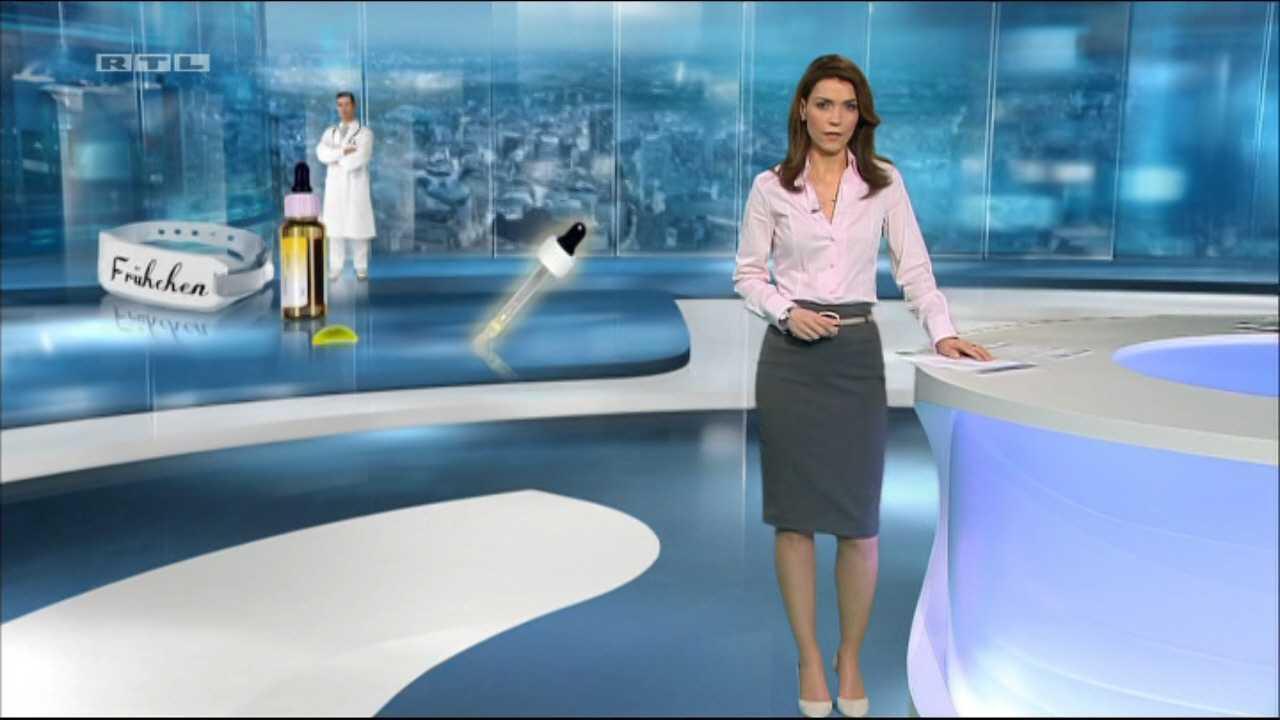 German Babes: Annett Möller Moderatorin RTL Aktuell