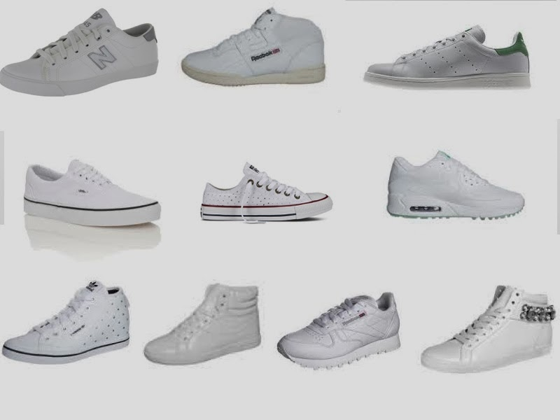 Mission Personnel Shopper : white white shoes fever