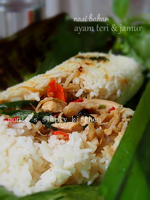 resep nasi bakar Fatmah NCC