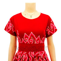 DB3000 - Model Baju Dress Batik Modern Terbaru 2013