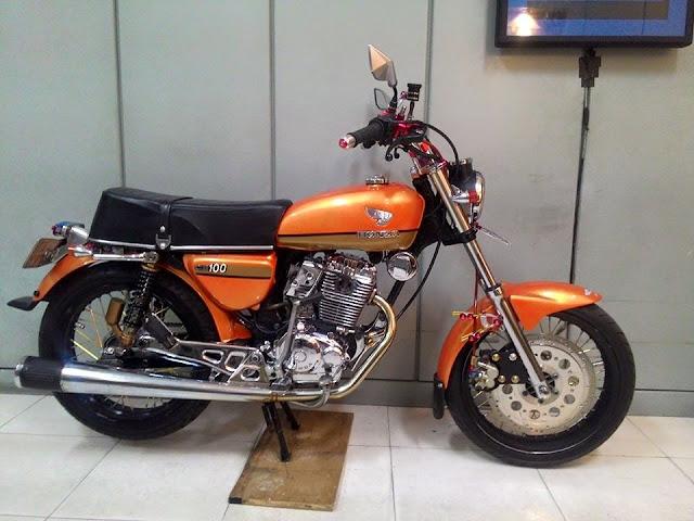 Foto Modifikasi Honda CB Pondok Gede CB Club